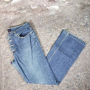 Tommy Jeans Exposed Button Fly Jeans 11